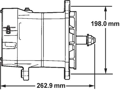 26si 21si alternator specifications delco remy. Black Bedroom Furniture Sets. Home Design Ideas